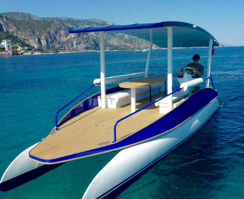 solar powered boats. Black Bedroom Furniture Sets. Home Design Ideas